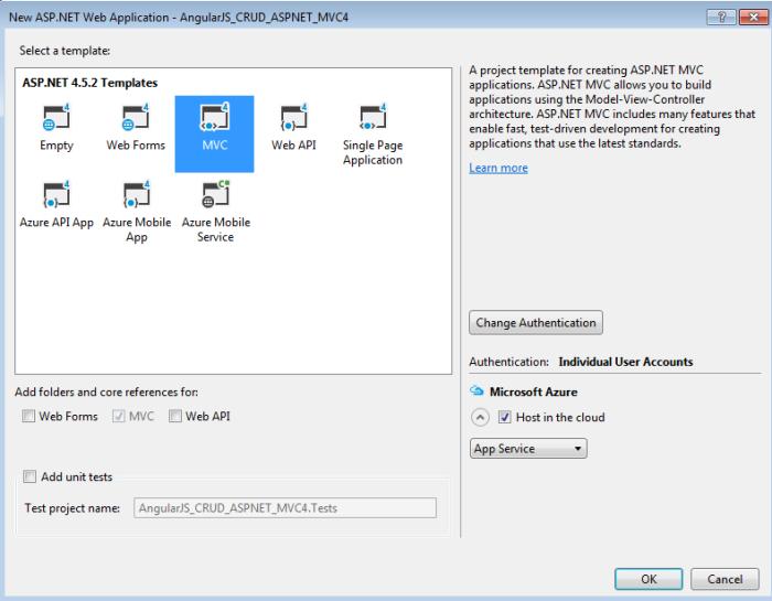 CRUD operations using AngularJS and MVC5 – Ramani Sandeep