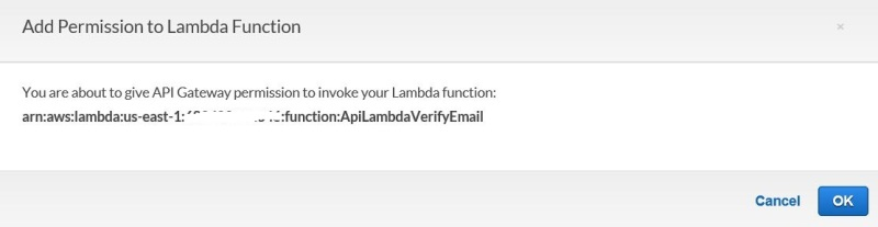 3-Add permission to lambda function-confirmation